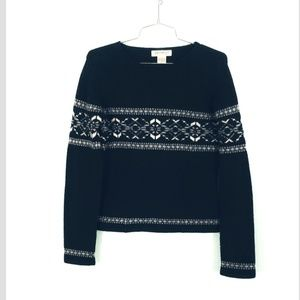 Eddie Bauer LAMBSWOOL Crewneck Sweater